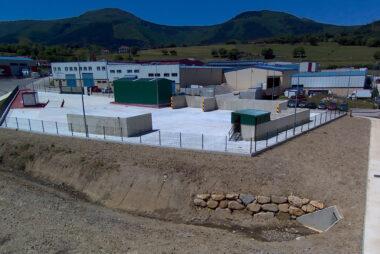 Vista aérea de la Estación de Transferencia RCD